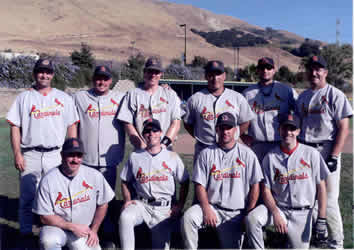 2006 American Division Champion Cardinals Team Picture