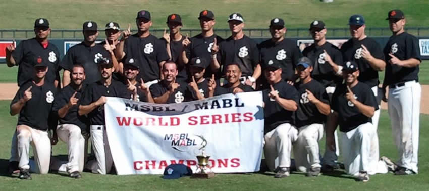 2011 World Series 25+ Federal San José Brew Crew Team Picture